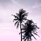 Palms on the Beach by Dominiquevari
