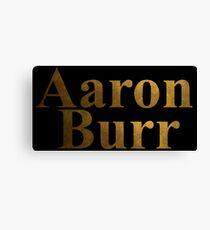 Lienzo Aaron Burr