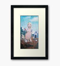 Gwyneth Poultry Framed Print