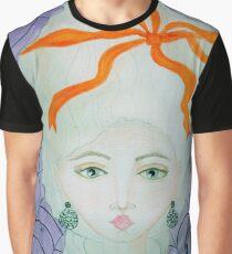 18th Century Cobweb Lady Graphic T-Shirt