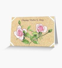 Mother's Day Rose and Buds Card Greeting Card