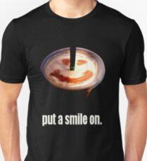 Camiseta unisex put a smile on.