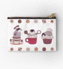 Cookie & cream & penguin Studio Pouch