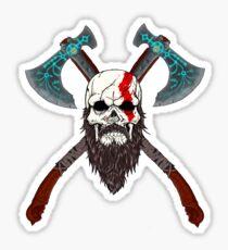 Kratos Stickers Redbubble