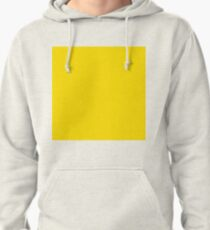 Plain Simple Classic Yellow Pullover Hoodie