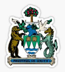 Kelowna Coat of Arms  Sticker