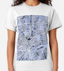 Backpage Detroit Michigan >> Detroit City Map T Shirts Redbubble