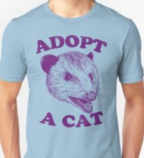 Adopt A Cat Slim Fit T-Shirt