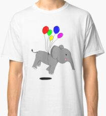 Elephant in the air Classic T-Shirt