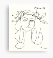 Picasso Sketch Metal Print
