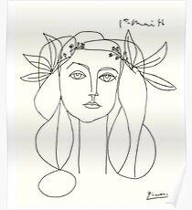 Póster Bosquejo de Picasso