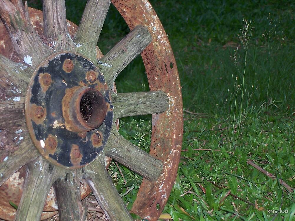 Rusty Wheel by kris-lou