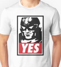"""YES!"" Slim Fit T-Shirt"