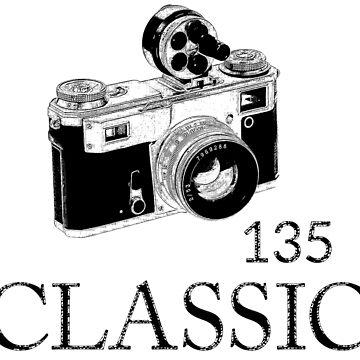 Classic camera photographic 135 by Adalba