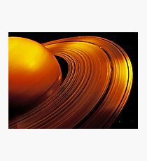 Rings of Saturn Photographic Print