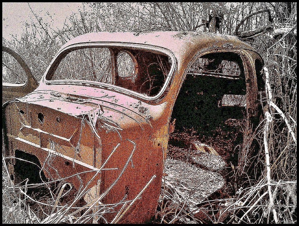 Old Rusty by Andre Engelbrecht