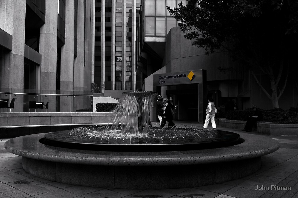 The Fountain by John Pitman