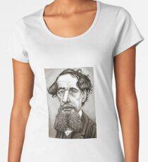 Charles Dickens Women's Premium T-Shirt