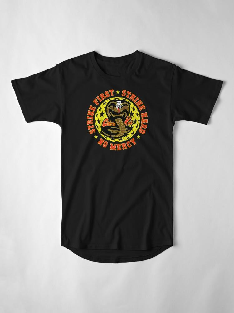Alternative Ansicht von Cobra kai - Schlag drei HD-Logo Longshirt