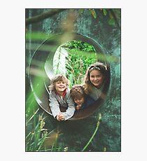 Cousins Photographic Print