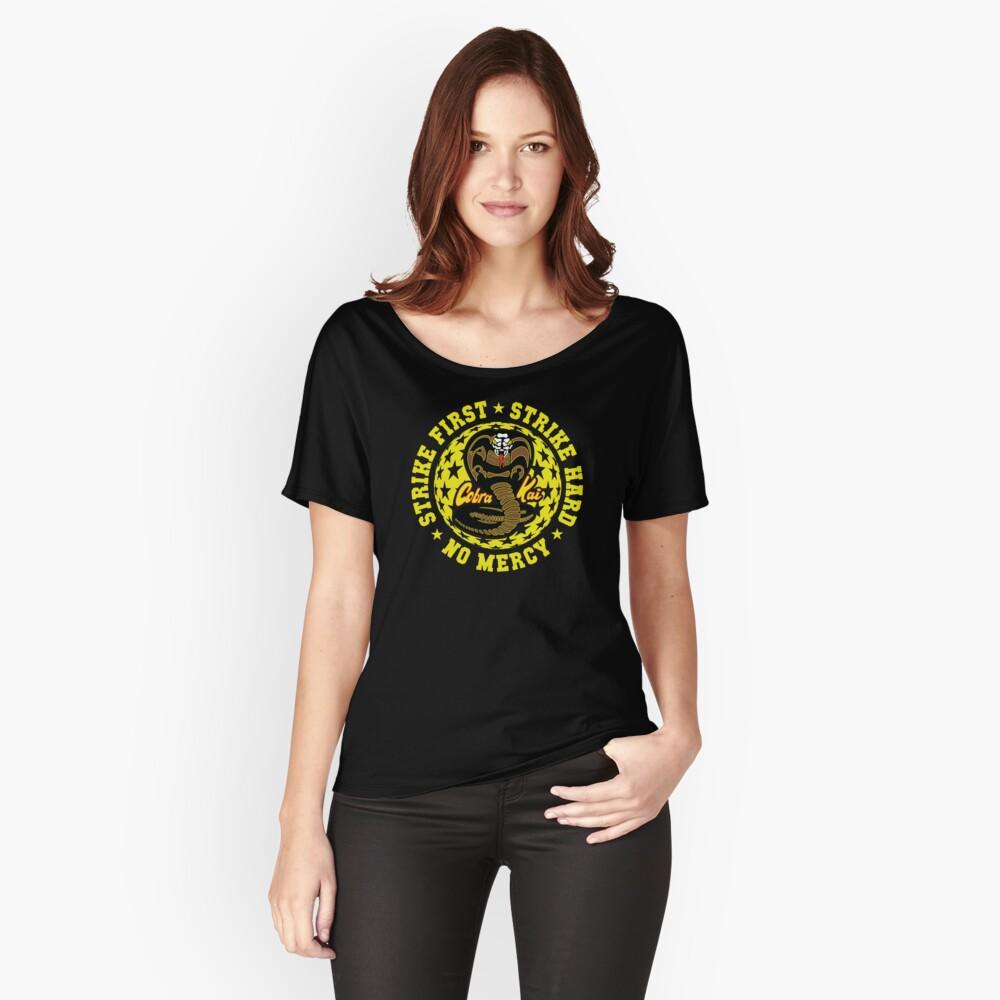 Cobra kai - Schlag vier HD Logo Loose Fit T-Shirt
