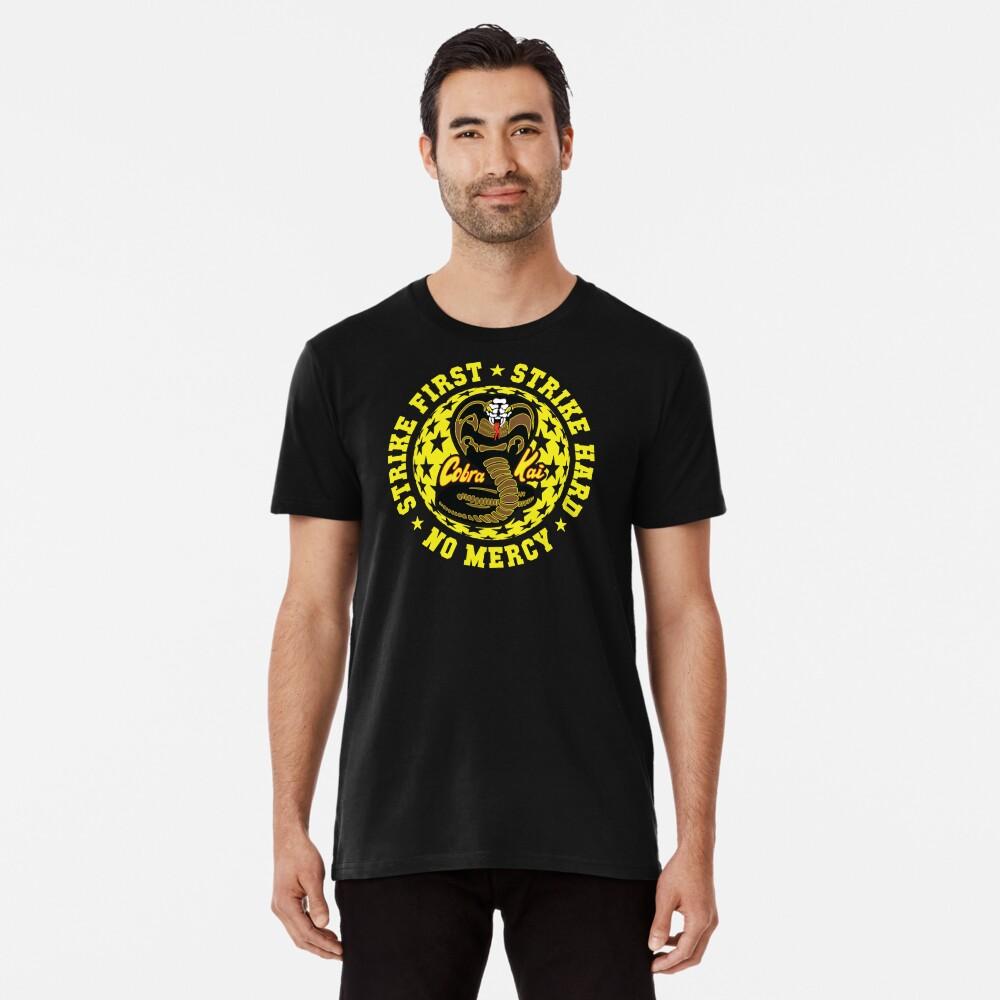 Cobra kai - Schlag vier HD Logo Premium T-Shirt