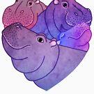 « Coeur d'hippopotames » par Hippopottermiss