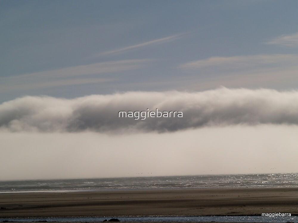 Sky Sea and Sand by maggiebarra