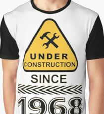 1968 Under Construction AGE TEE Graphic T-Shirt
