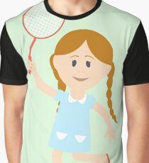 Cute girl illustration  Graphic T-Shirt