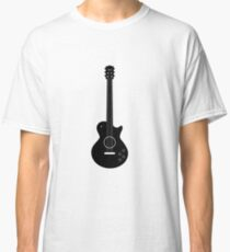 Guitar illustartion Classic T-Shirt