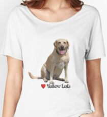 Yellow Lab Love Women's Relaxed Fit T-Shirt
