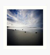 Fingal Beach Pinhole Art Print