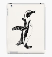 African Penguin in Graphic Black and White iPad Case/Skin