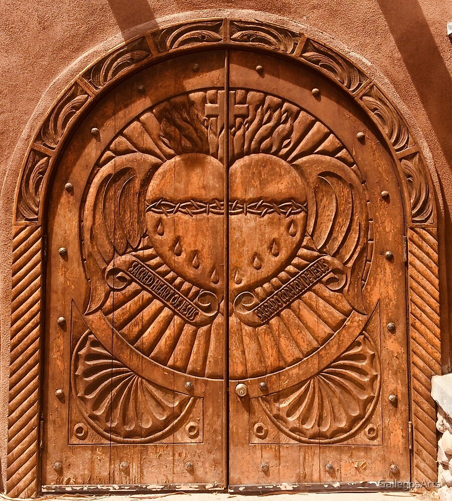 Chimayo door by GallegosArts