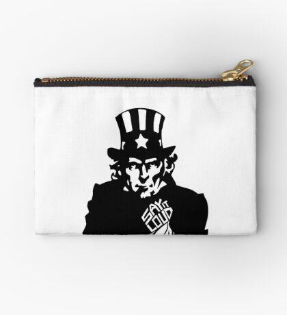SAY IT LOUD: Uncle Sam Studio Pouch