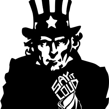 SAY IT LOUD: Uncle Sam by carbonfibreme