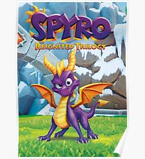 Spyro Reignited poster Poster