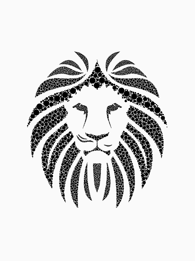Lion from circles by MaikLegend