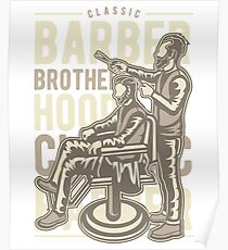 BARBER BROTHER HOOD   T-SHIRT Poster