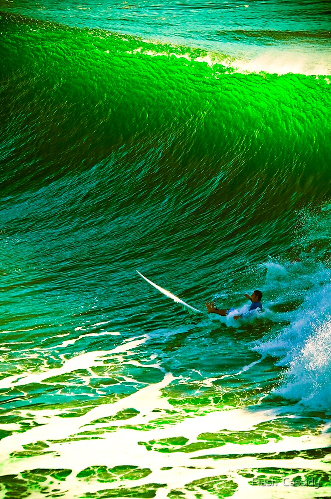 WiPE OUT ona GreenWave  by Flash  Cassidy