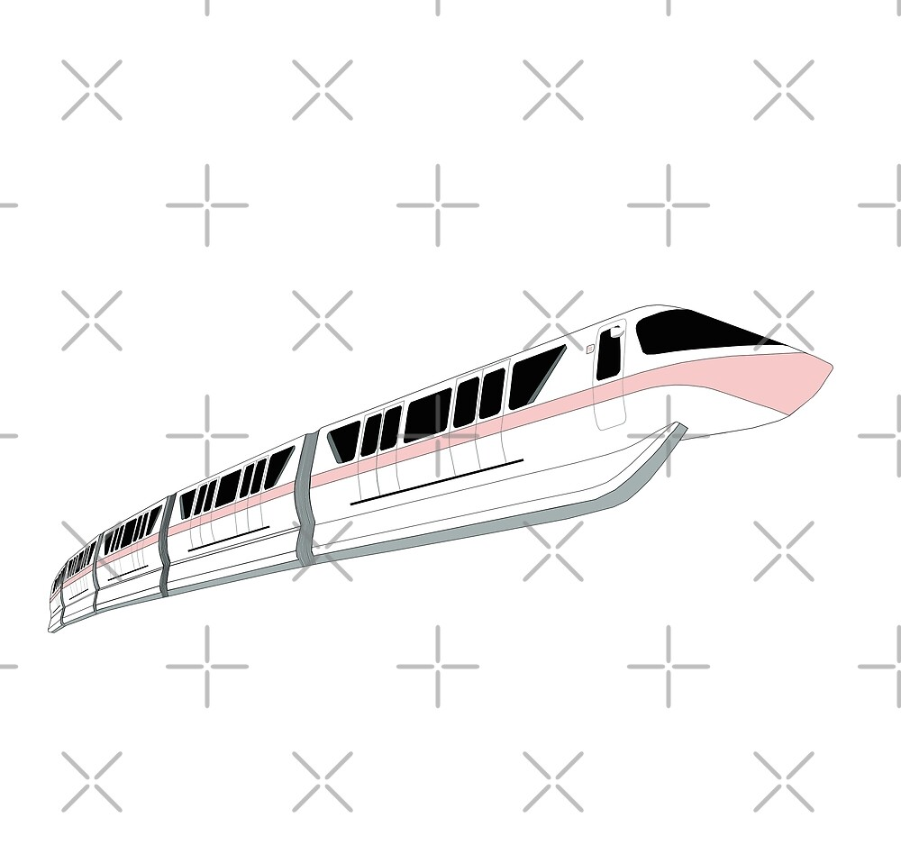 Millennial Pink Monorail by FandomTrading