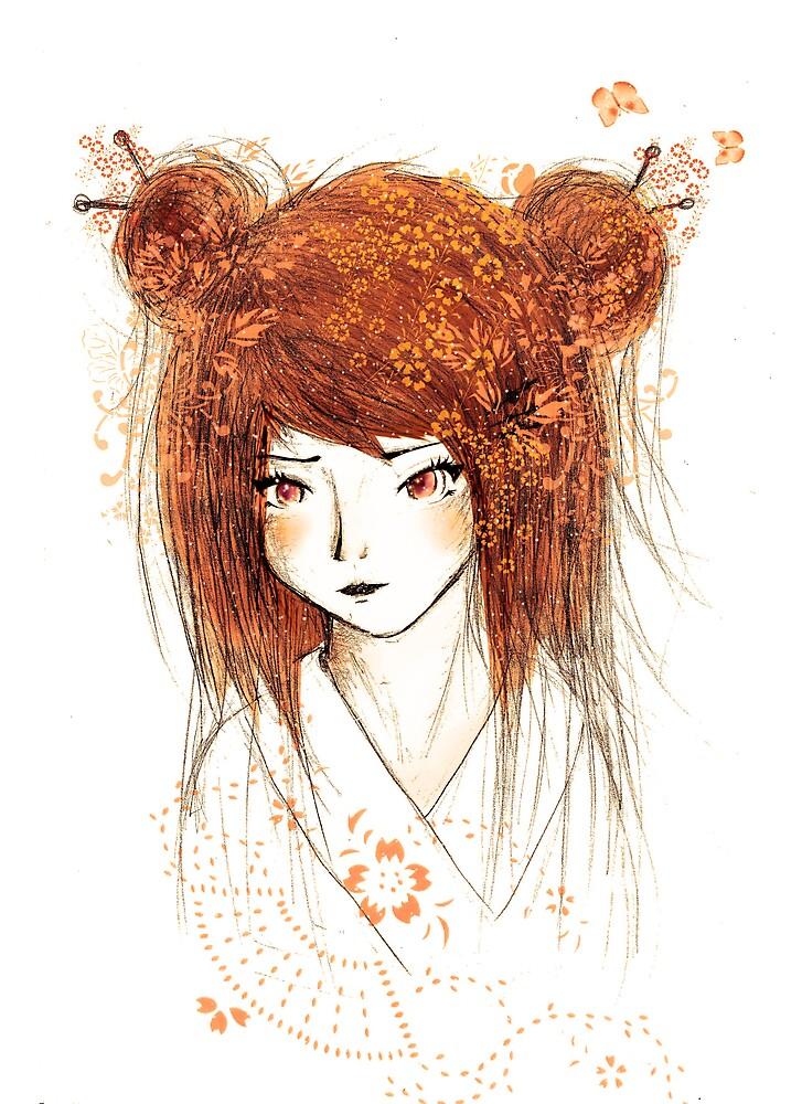Spring Geisha by Sikicool