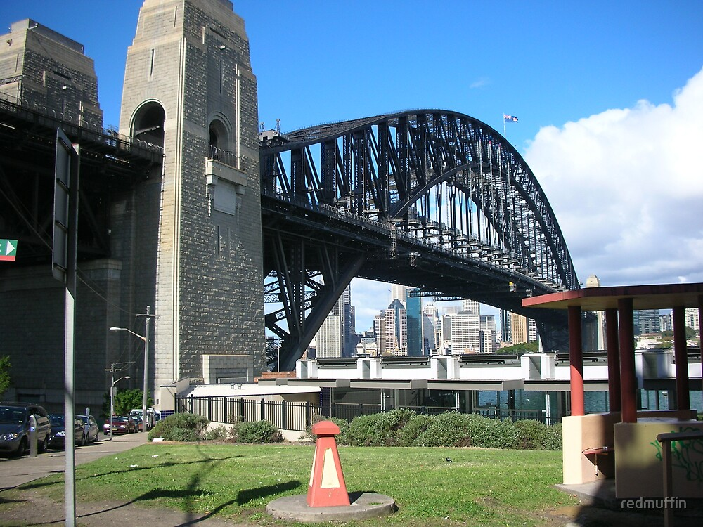 Sydney Harbour Bridge by redmuffin
