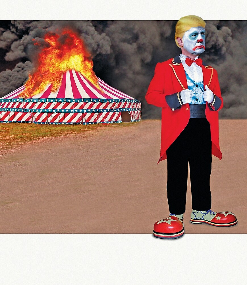 Don't let the clown be the ringmaster by christhebarker
