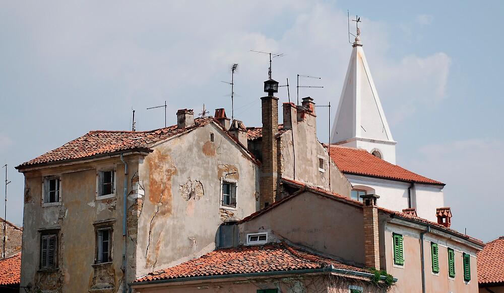Buildings in Izola by jojobob