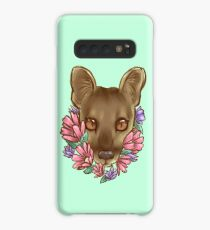 Flowers and a Fossa Case/Skin for Samsung Galaxy