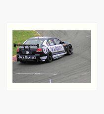 JD Racing Car Art Print