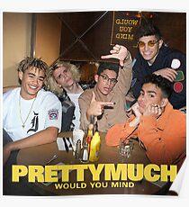 PrettyMuch Merchandise Poster