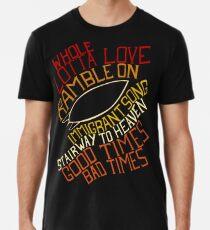 Led Zeppelin - Songs Premium T-Shirt